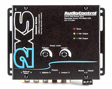 NEW AUDIOCONTROL 2XS BLACK 2-WAY ELECTRONIC CROSSOVER