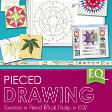 EQ WITH ME PIECED DRAWING EQ7 Software Electric Quilt Block Design NEW BOOK