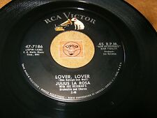 JULIUS LA ROSA - LOVER LOVER - A HEART FOR A   / LISTEN -  JAZZ ROCK  POPCORN