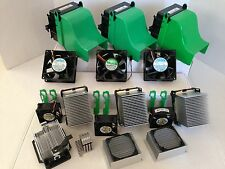 DELL COOLING SHROUDS HEAT SINKS COOLING FANS LOT