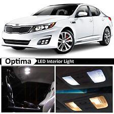 11x Premium White LED Lights Interior Package Kit for 2011-2015 Optima K5 + TOOL