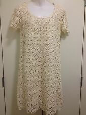 French Connection Women Lace Dress Sz 8