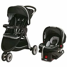 GRACO Fastaction Fold Sport BABY STROLLER Click Connect Travel System, Gotham