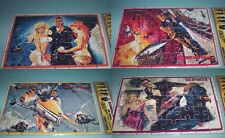 lot of 4 PUZZLES JAMES BOND 007 SEAN CONNERY MOVIES SEALED PACK COLLECTIBLE