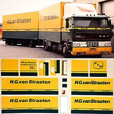 DAF H.G. van Straaten Holland (NL) 1:87 Truck Decal LKW Abziehbild