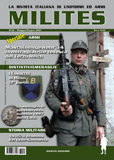 MILITES n23 - rivista militaria magazine Léon-Gambetta MG34 Cosacchi Croce Rossa