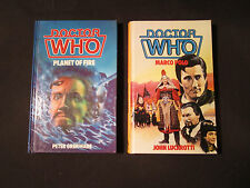 Doctor Who Hardcover Books from England - Planet of Fire, Marco Polo