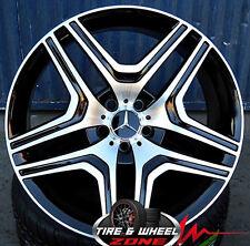 "20"" ML63 Style Wheels Black Machined ML GL GLK R Class Mercedes Benz GL350 AMG"