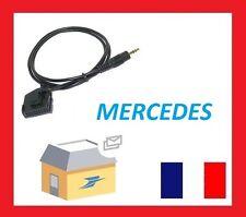 Cable auxiliaire aux adaptateur mp3 pour autoradio Mercedes Classe A (W168)