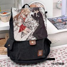 Sword Art Online Anime SAO Canvas Backpack Rucksack Shoulder School Bag TP05
