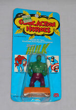 vintage Mego COMIC ACTION HEROES THE INCREDIBLE HULK MOC sealed