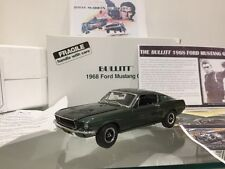 Danbury Mint Ford Mustang GT 1968 Bullitt Steve McQueen Movie Car 1:24
