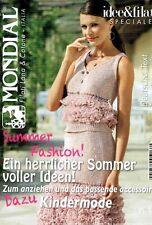 Mondial Filati Lana Cotone # 19 - SOMMERZEITFASHION & Kindermode