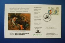 1998 DAVID SHEPHERD FOUNDATION  CONSERVATION COVER SIGNED BY THE ARTIST HIMSELF