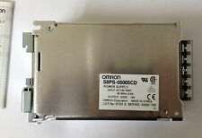 x1 OMRON S8PS-05005CD Power Supply 100-240VAC Input 5VDC 10A Output