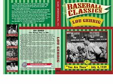 Lou Gehrig, New York Yankees - Five Vintage films now on one DVD!