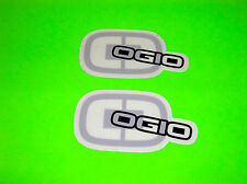 "OGIO MOTOCROSS SKATEBOARD SNOWBOARD GEAR BAG BACKPACK SILVER 4"" STICKERS DECALS"