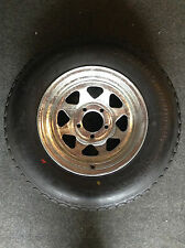 """14"""" Spare Wheel, Galvanised, New Tyre/Rim (Suits Boat, Box and Car Trailer)"""