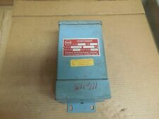 NEW THERMON TRANSFORMER 3-MT-1 .500 KVA .500KVA INPUT 120V OUTPUT 10-60V 3MT1
