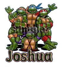 Teenage Mutant Ninja Turtles Personalized Birthday t shirt Party Christmas Gift