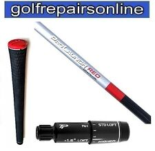 GRAFALLOY PROLAUNCH RED STIFF SHAFT FITTED WITH TM RBZ STAGE 2 ADAPTOR & TM GRIP