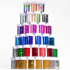 new Nail Art Foils Wraps Transfer Glitter Sticker Polish Decal Decoration