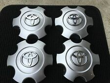 "NEW SET OF 4 SILVER TOYOTA SEQUOIA 2003-2007 17"" WHEEL HUB CAPS EMBLEM 560-69440"