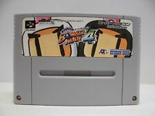 SNES -- SUPER BOMBERMAN 4 -- Action, Super famicom, Japan Game, work fully.