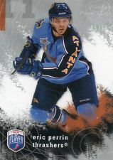 ERIC PERRIN 2007-08 BE A PLAYER PLATINUM PLAYERS CLUB HOCKEY CARD 5/25