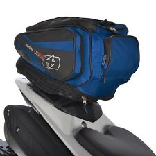 OXFORD T30R Tail pack Black/Blue Lifetime Motorcycle tail bag Luggage OL337