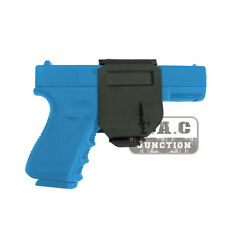 Tactical Rotating 360 GlockClip Right Hand MOLLE Holster for Glock 17 19 22 23