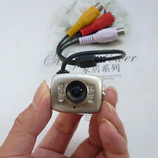 Mini Wired CCTV Camera Security Spy Color Night Vision Infrared Hidden Video Cam