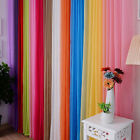 Valances Floral Tulle Voile Home Door Window Curtain Drape Panel Sheer Scarf New