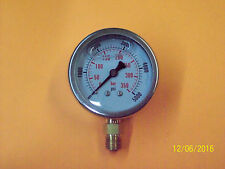 2 inch Hydraulic Pressure Gauge-Liquid Filled 5000 PSI