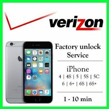 VERIZON Unlock Code Service iPhone 4S 5 5C 5S 6 6+ 6S 7 7+ SUPER FAST GUARANTEED