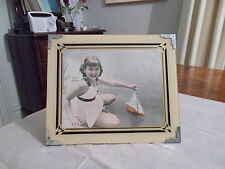 SUPERB LARGE 1930'S JANE WITHERS PICTURE IN IT'S ORIGINAL 1930'S GLASS FRAME