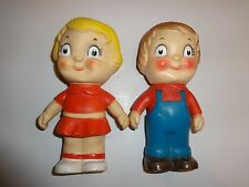 Vintage Pair of Campbell Kids Vinyl Dolls