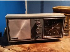 Vintage Raleigh 10 Transistor AM/FM Radio External FM Antenna WORKS GREAT