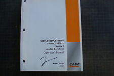 CASE 580 590 M SM Series 3 Backhoe Loader Owner Operator Maintenance Manual book