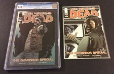 WALKING DEAD GOVERNOR SPECIAL #1 Comic Book CGC 9.8 + Hastings Variant Cover NM