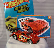 2015 Mystery Models #07 TOYOTA MR2 ��Burnt Red;pr5∞Sticker∞Hot Wheels