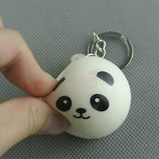Cuttie Panda Tangyuan Keychain Keyring Stress Relief Squeeze Ball Ring Charm
