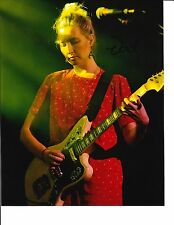 WARPAINT EMILY KOKAL SIGNED PLAYING GUITAR 8X10