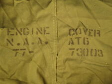 North American AT-6 SNJ Aircraft Engine Cover Pratt Whitney R-1340