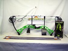 "Diamond by Bowtech - Prism Neon Green Package- Right Hand 5-55# 18-30"" Draw"