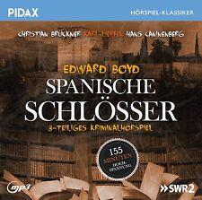 Spanische Schlösser * CD 3-teilige Kriminalhörspiel von Edward Boyd MP3-CD Pidax