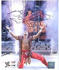 WWE SHAWN MICHAELS PSA DNA CERTIFIED 8X10 AUTOGRAPHED PHOTO WITH 12 CARDS