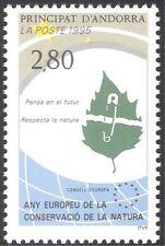 Andorra 1995 Nature Protection/Conservation Year/Leaf/Plants 1v (n42866)