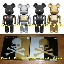 Be@rbrick Mastermind Japan 200% Gold Strip & Chrome Silver MMJ Bearbrick Boxset