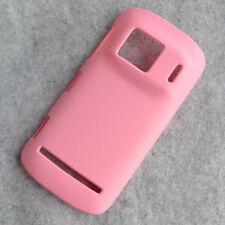New Light Pink Rubberized Hard case back cover for Nokia 808 PureView